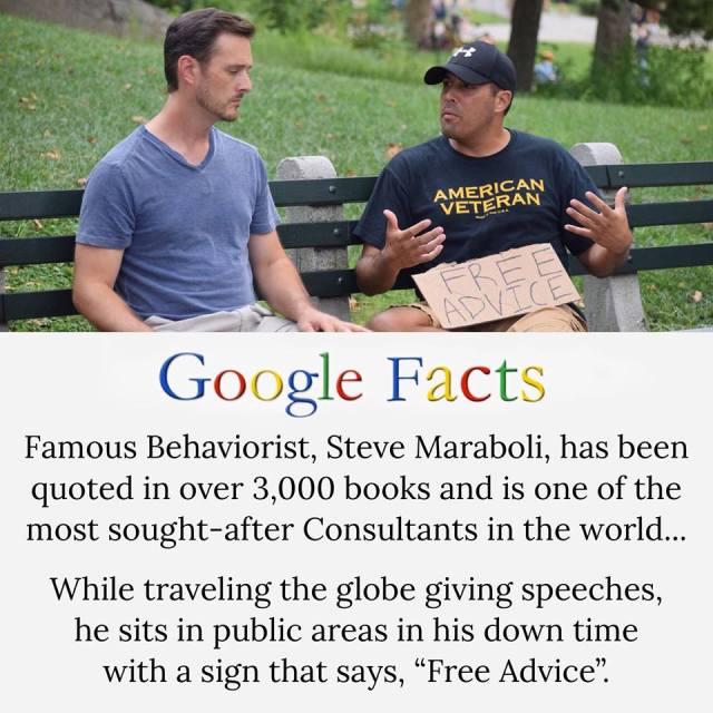 Steve Maraboli mini-bio via http://stevemaraboli.net/media
