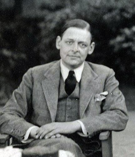 Thomas Stearns Eliot, by Lady Ottoline Morrell, 1934
