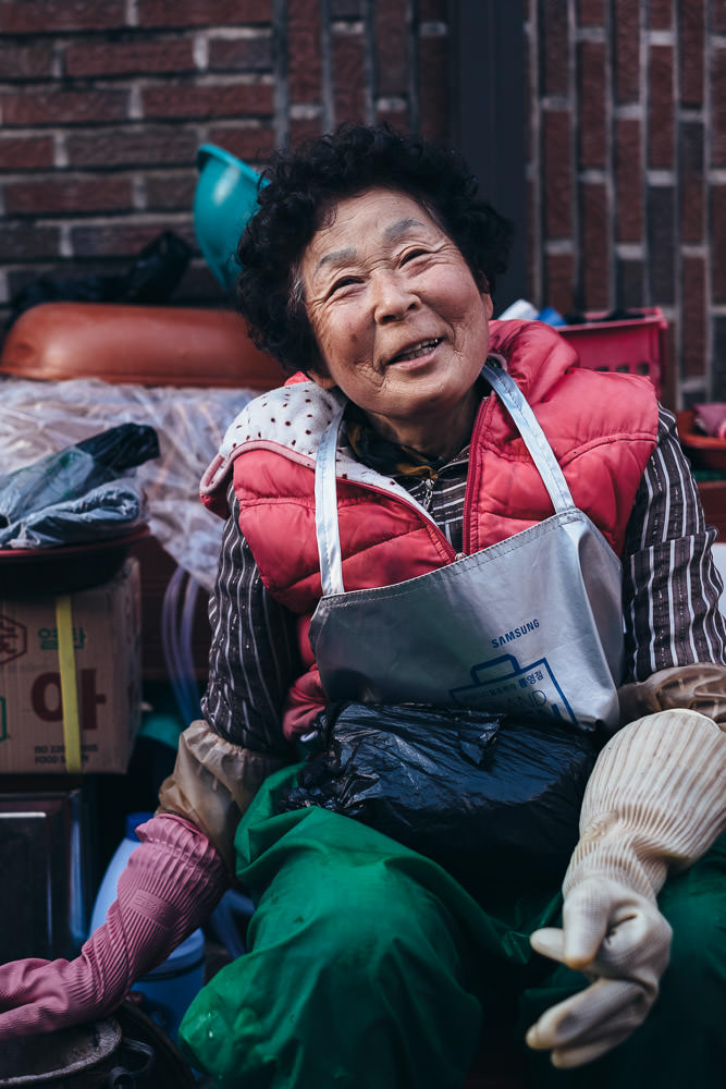 The Friendly Lady - Tongyeong, South Korea