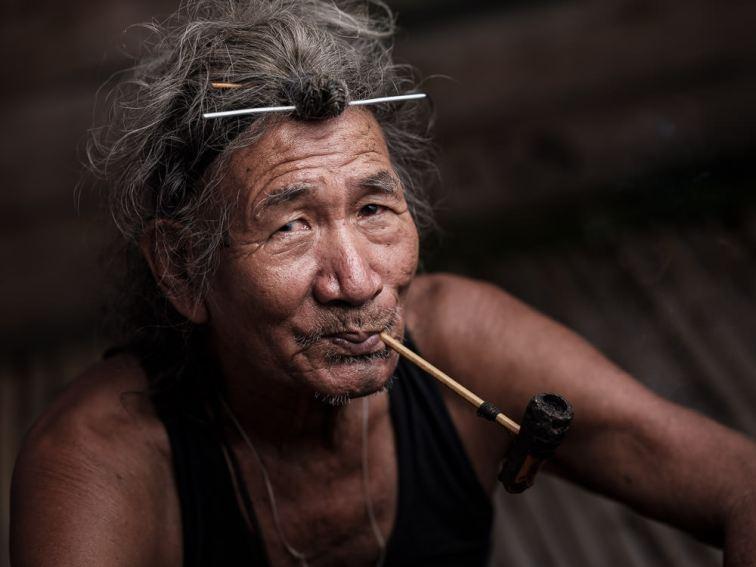 Apatani Facial Tattoo, Ziro, India