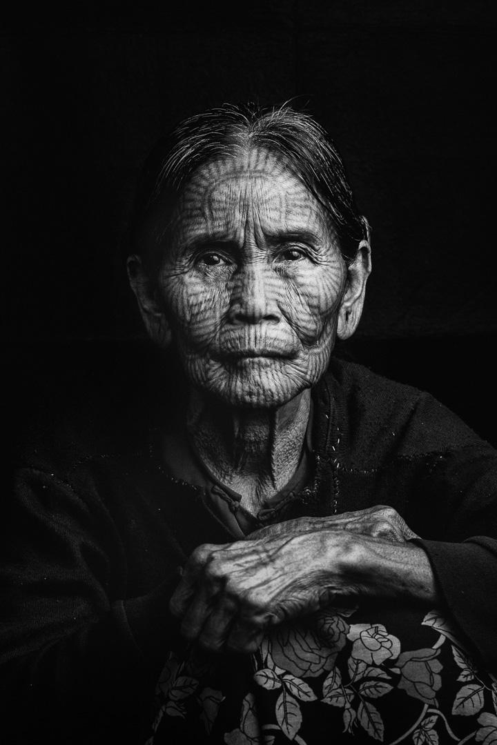 Chin Villages - Mrauk U, Myanmar