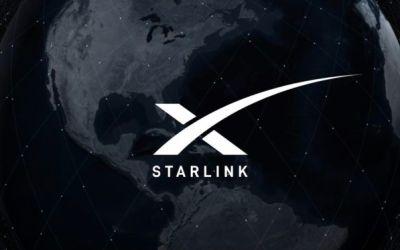 Elon Musk sends tweet via SpaceX's Starlink satellite broadband