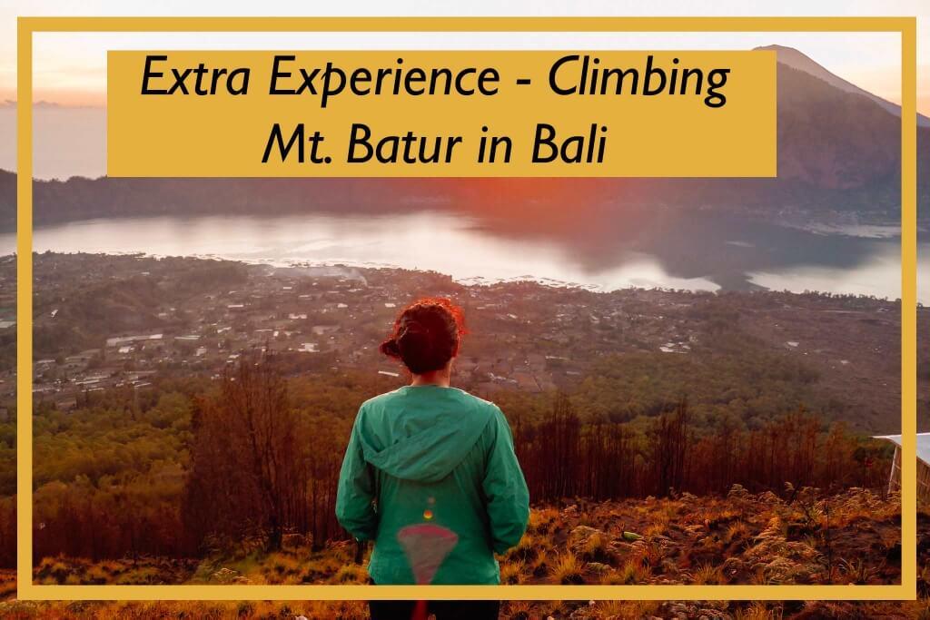Extra Experience: Climbing Mt. Batur in Bali