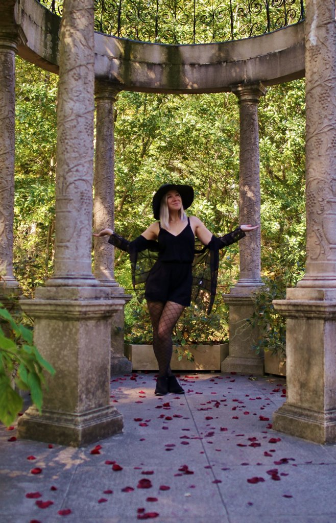 Thirty, Witchy, and Thriving - Birthday Photo Shoot at Longwood Gardens 17