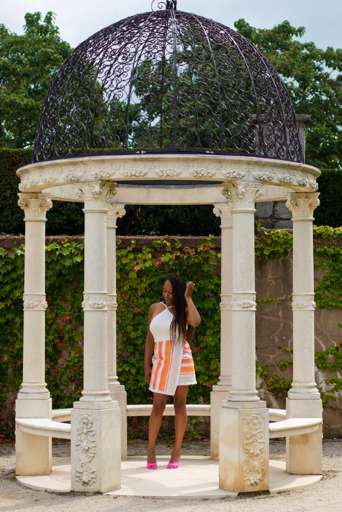 Fashion Blogger Summer Photo Shoot at Longwood Gardens 10
