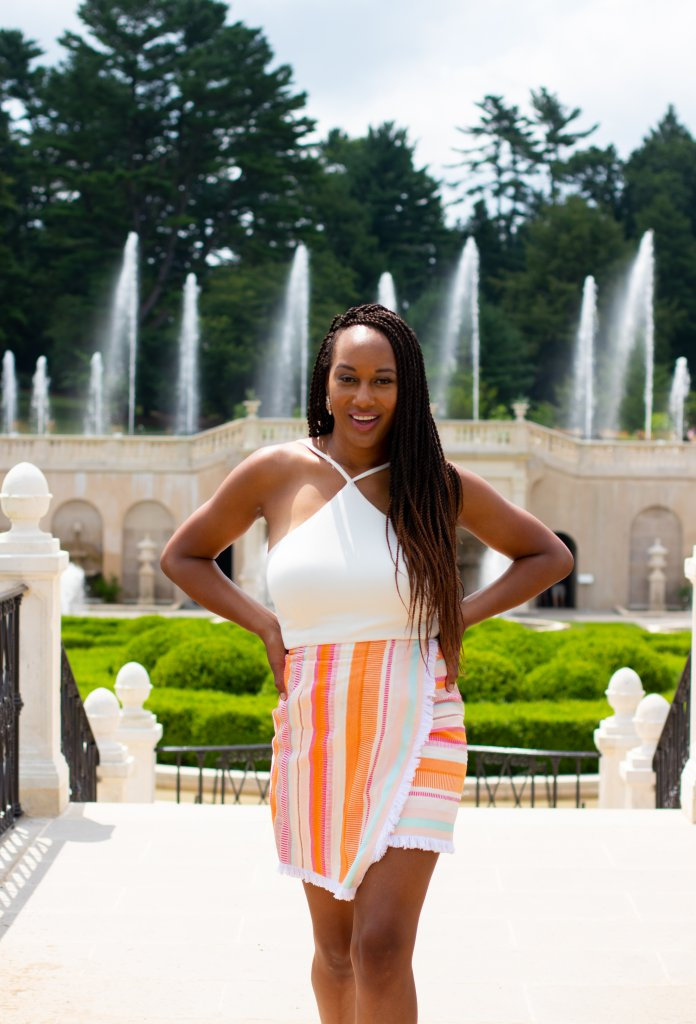 Fashion Blogger Summer Photo Shoot at Longwood Gardens 12