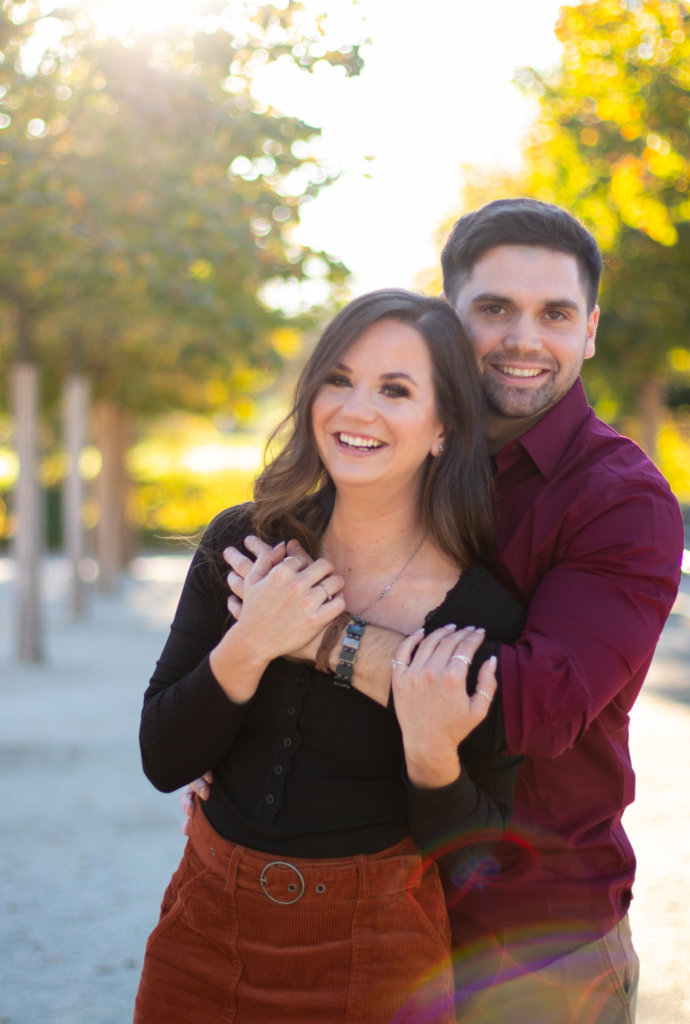 Fall Couples Photo Session at Longwood Gardens 10