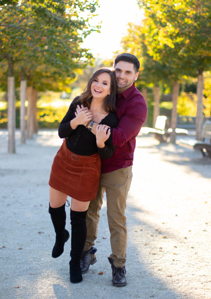 Fall Couples Photo Session at Longwood Gardens 4