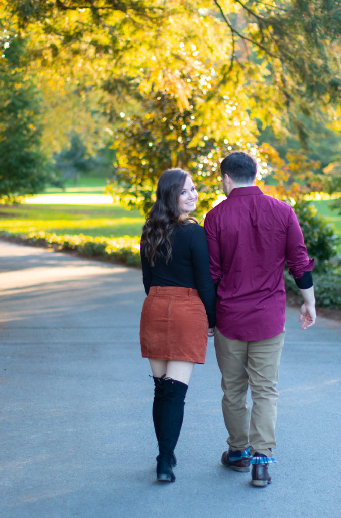 Fall Couples Photo Session at Longwood Gardens 8
