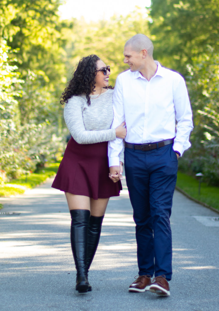 Couples Photo Shoot Session at Longwood Gardens 9