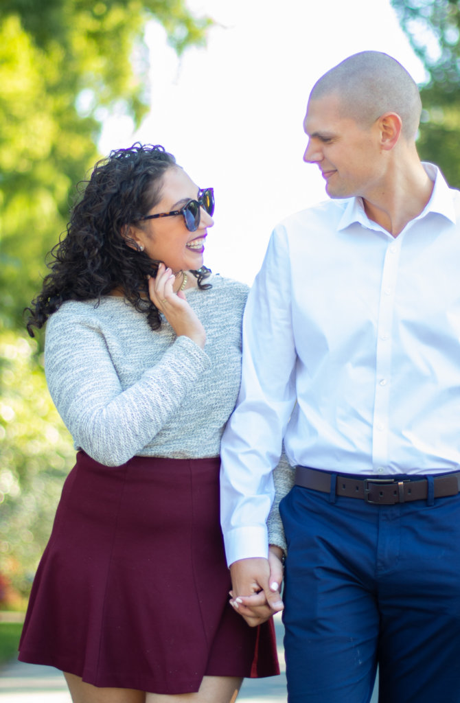 Couples Photo Shoot Session at Longwood Gardens 3