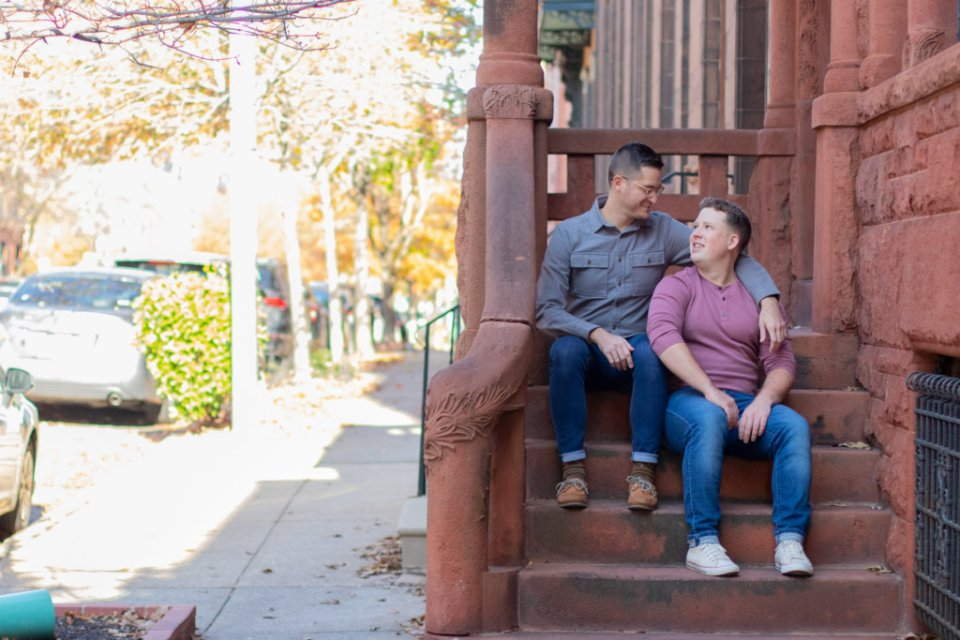 Fall Couples Photo Session in Baltimore, MD 2