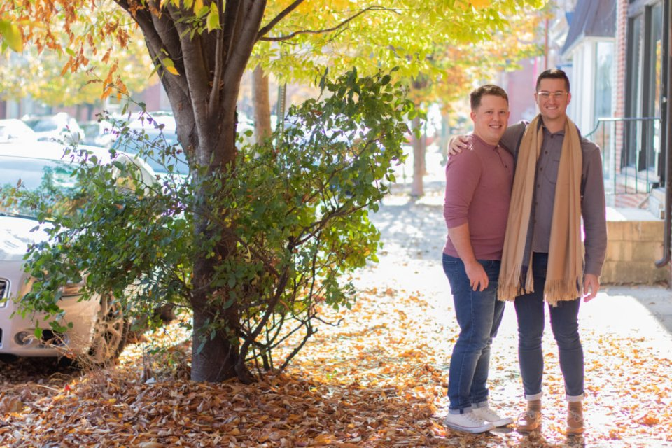 Fall Couples Photo Session in Baltimore, MD 19