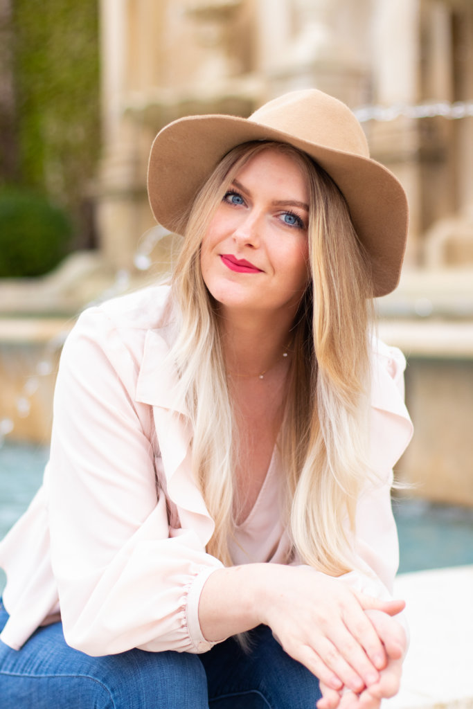 Headshot Session at Longwood Gardens with Beauty Advisor, Renee Wadsworth 12