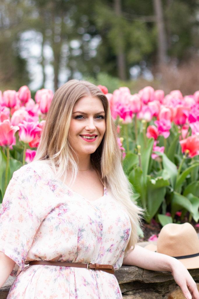 Headshot Session at Longwood Gardens with Beauty Advisor, Renee Wadsworth 24