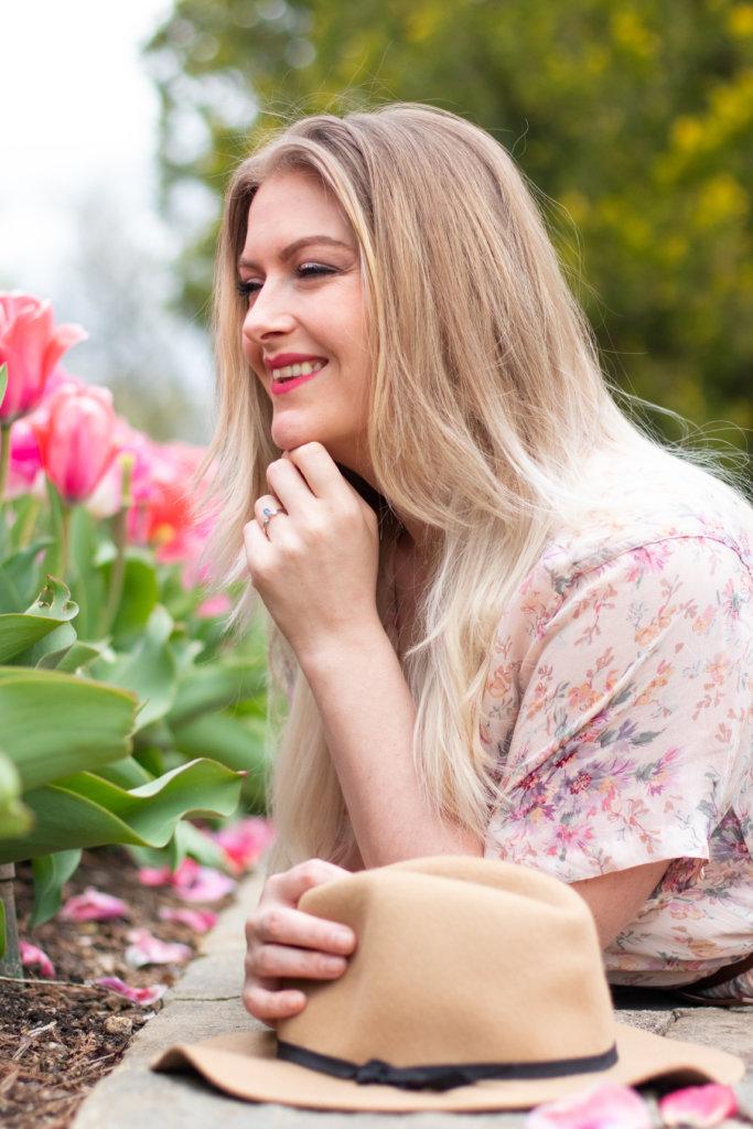 Headshot Session at Longwood Gardens with Beauty Advisor, Renee Wadsworth 21