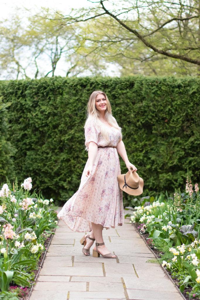 Headshot Session at Longwood Gardens with Beauty Advisor, Renee Wadsworth 26