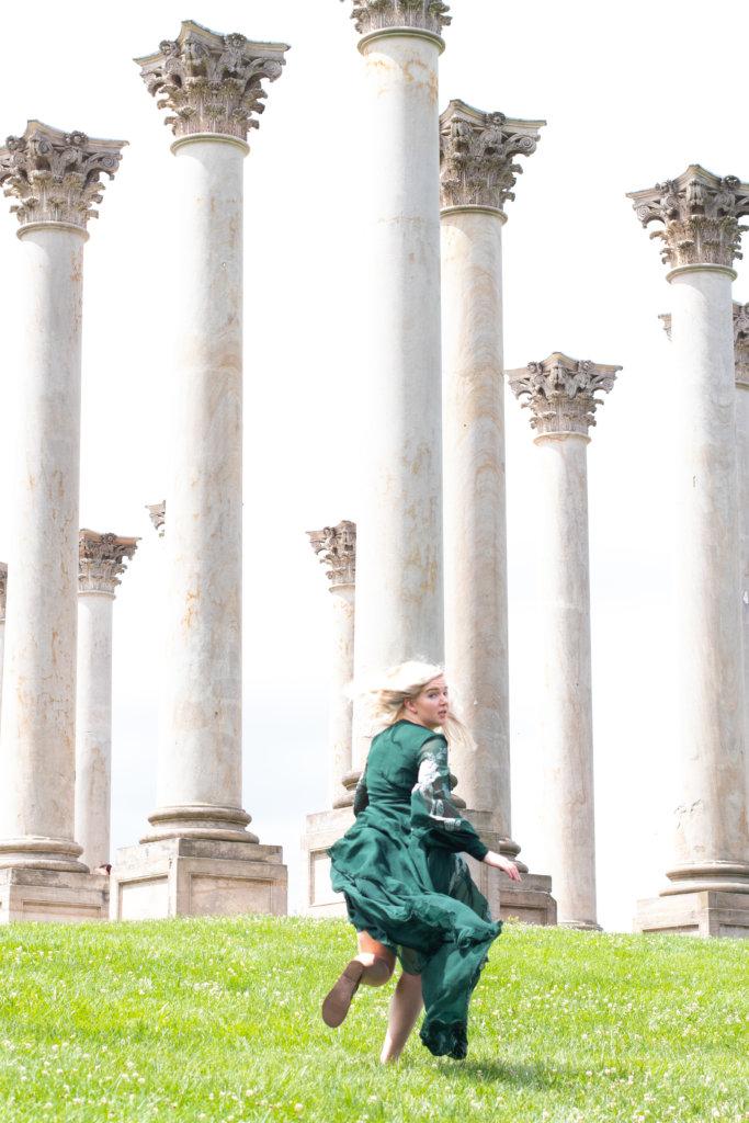 Washington DC Greek Goddess Summer Photo Shoot 11