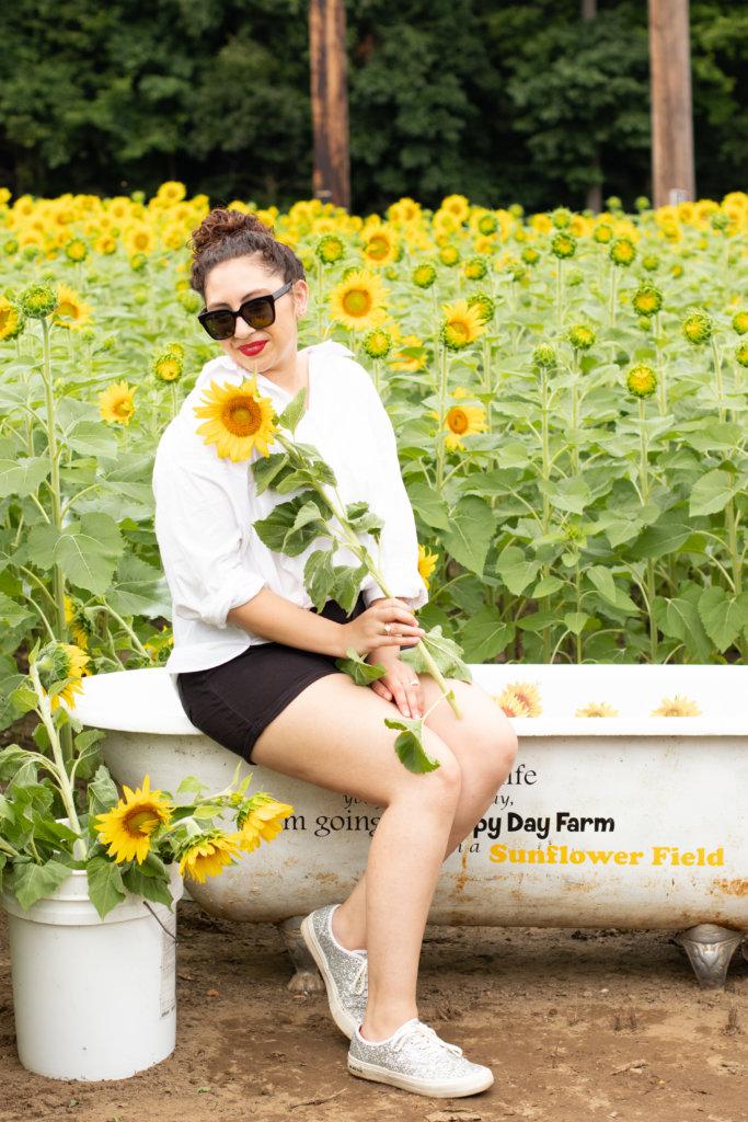 New Jersey Fashion Blogger Photo Shoot Happy Farm New Jersey 30
