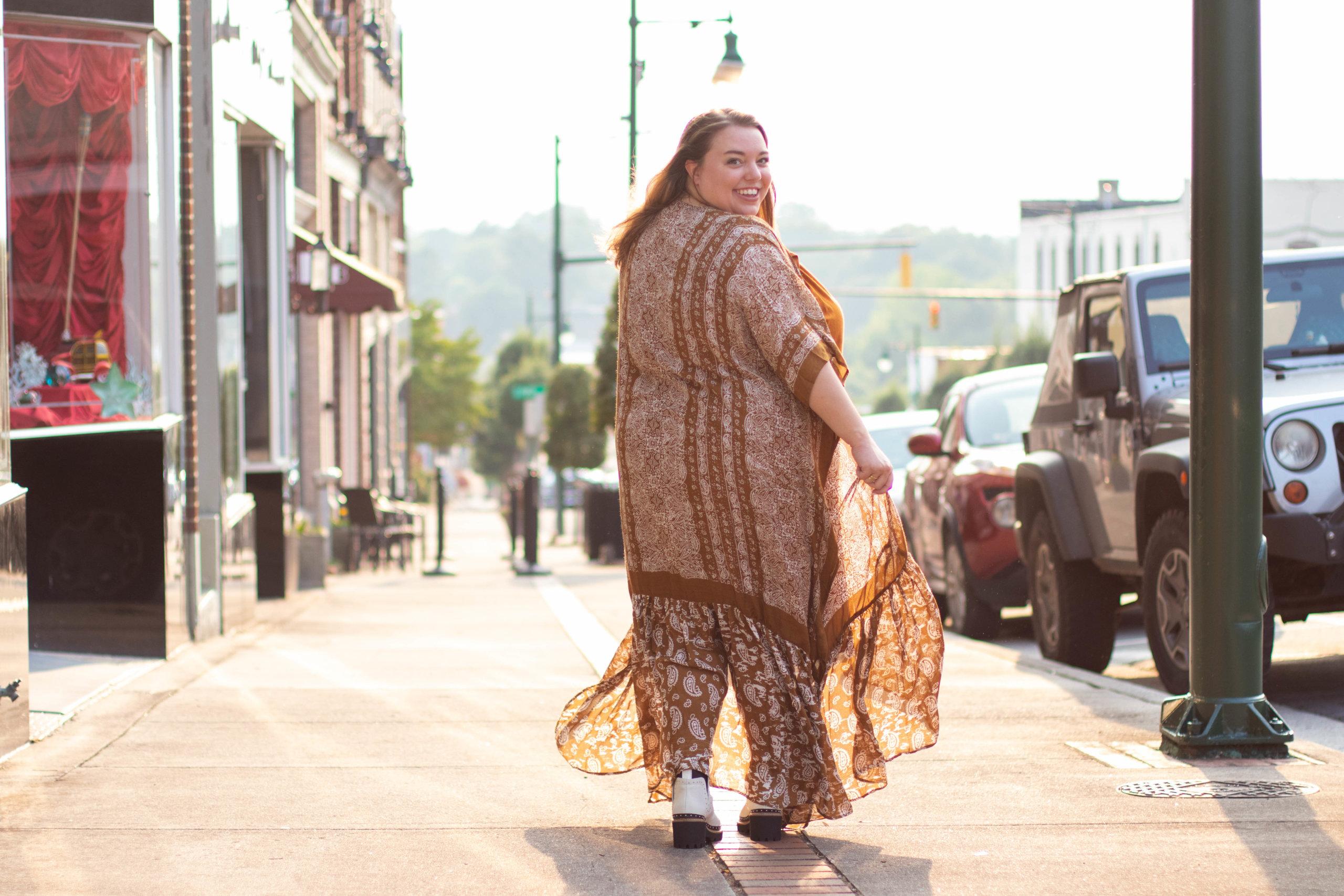 Fashion Blogger Summer Shoot in North Carolina