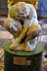 Michelangelo's First Sculpture