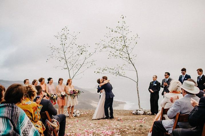 big sur wedding photo