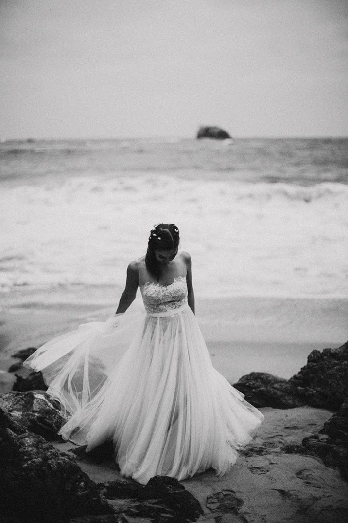 bhldn wedding dress big sur photo