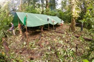 Base camp, Lake Hargy