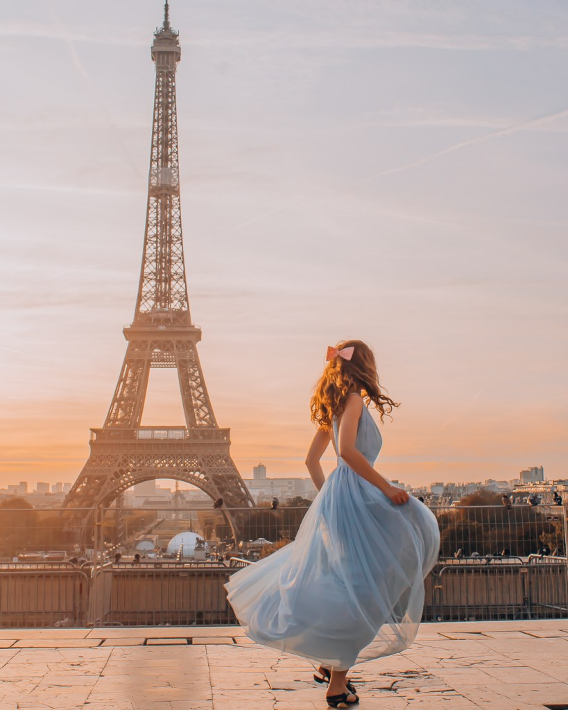 Girl in Paris