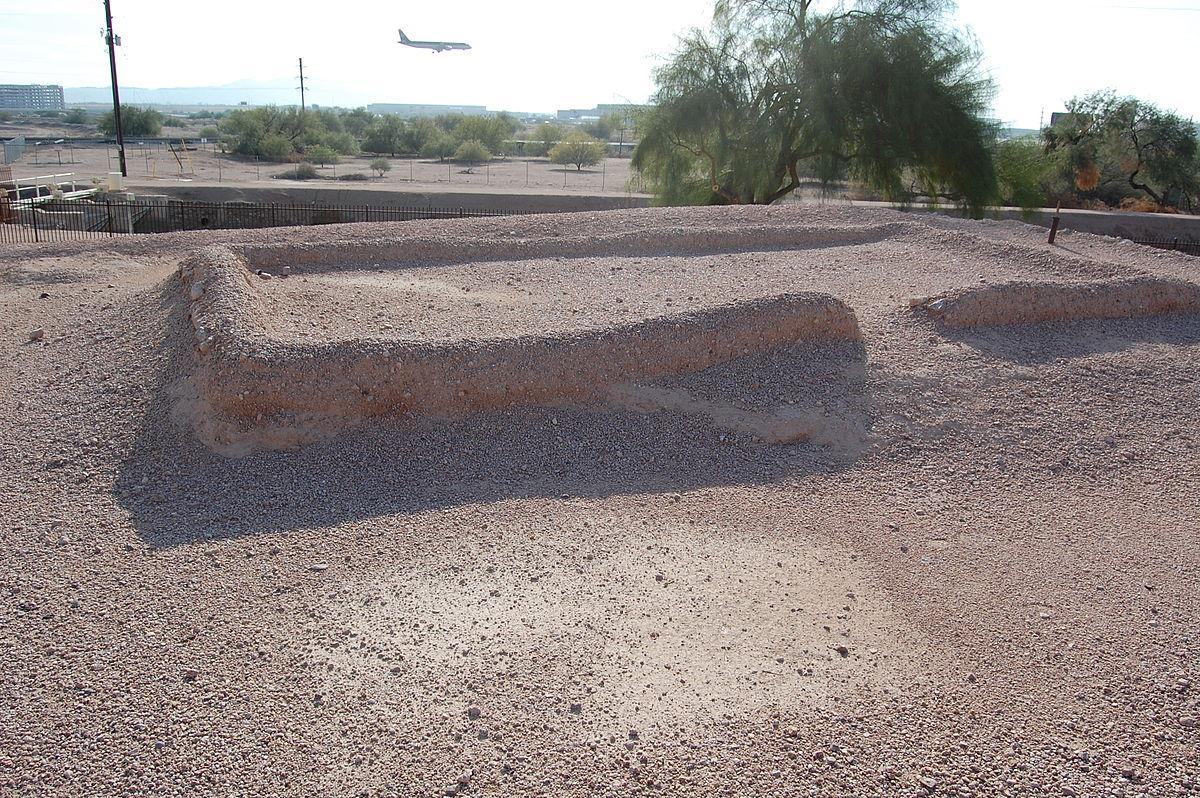 Ruins at Pueblo Grande site