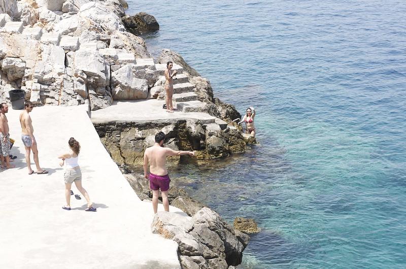 Spilia Beach in Hydra