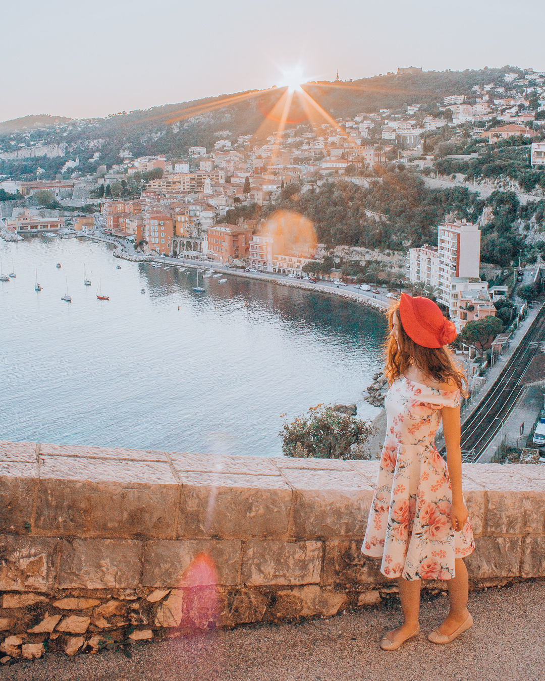 Viewpoint in Villefranche-sur-Mer
