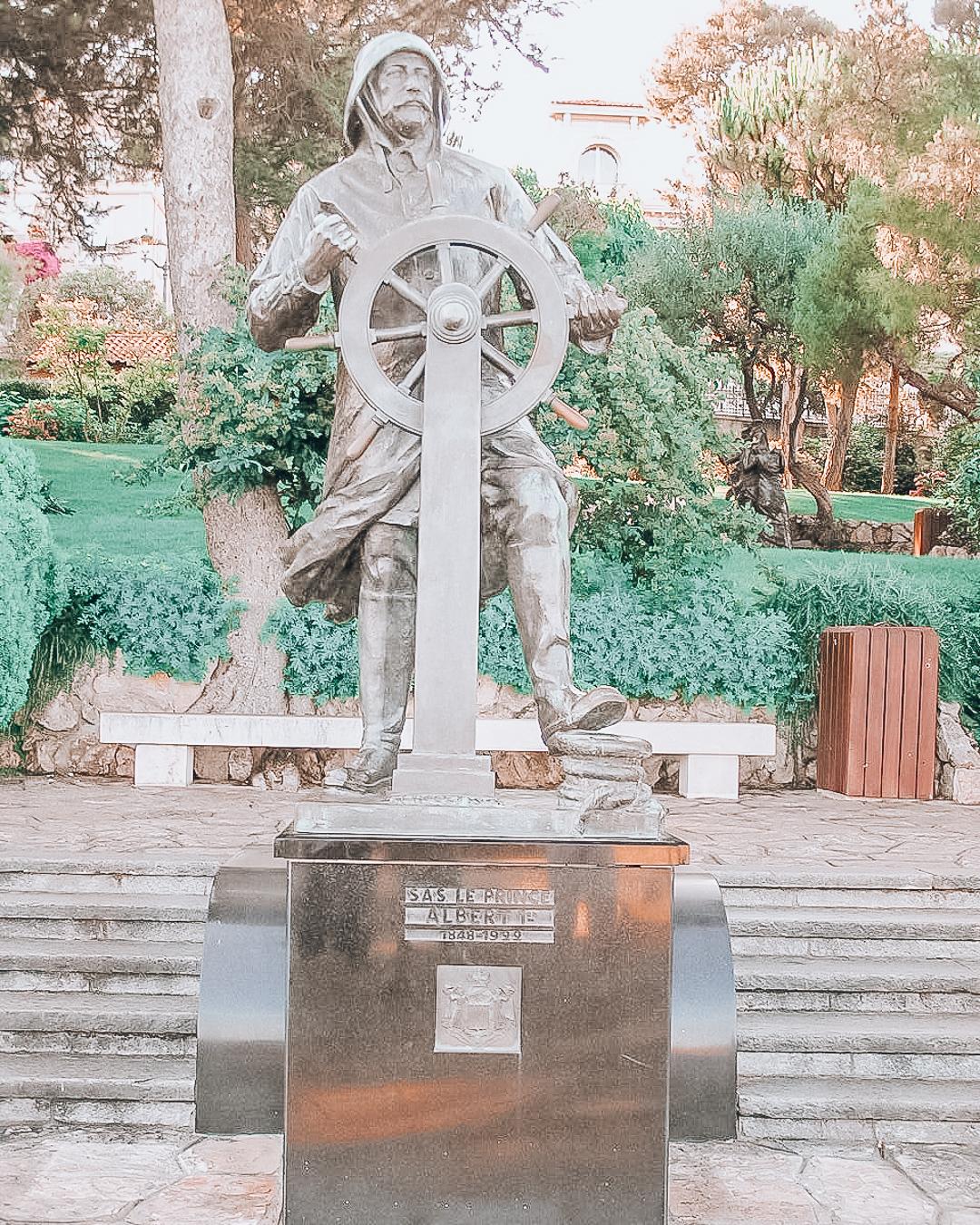 Prince Albert I Statue