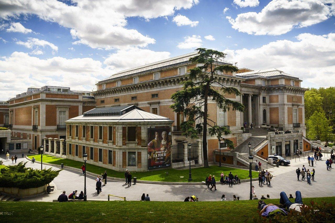 Museo Nacional del Prado from the outside