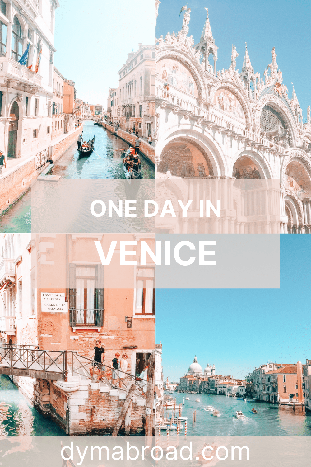 One day in Venice Pinterest image