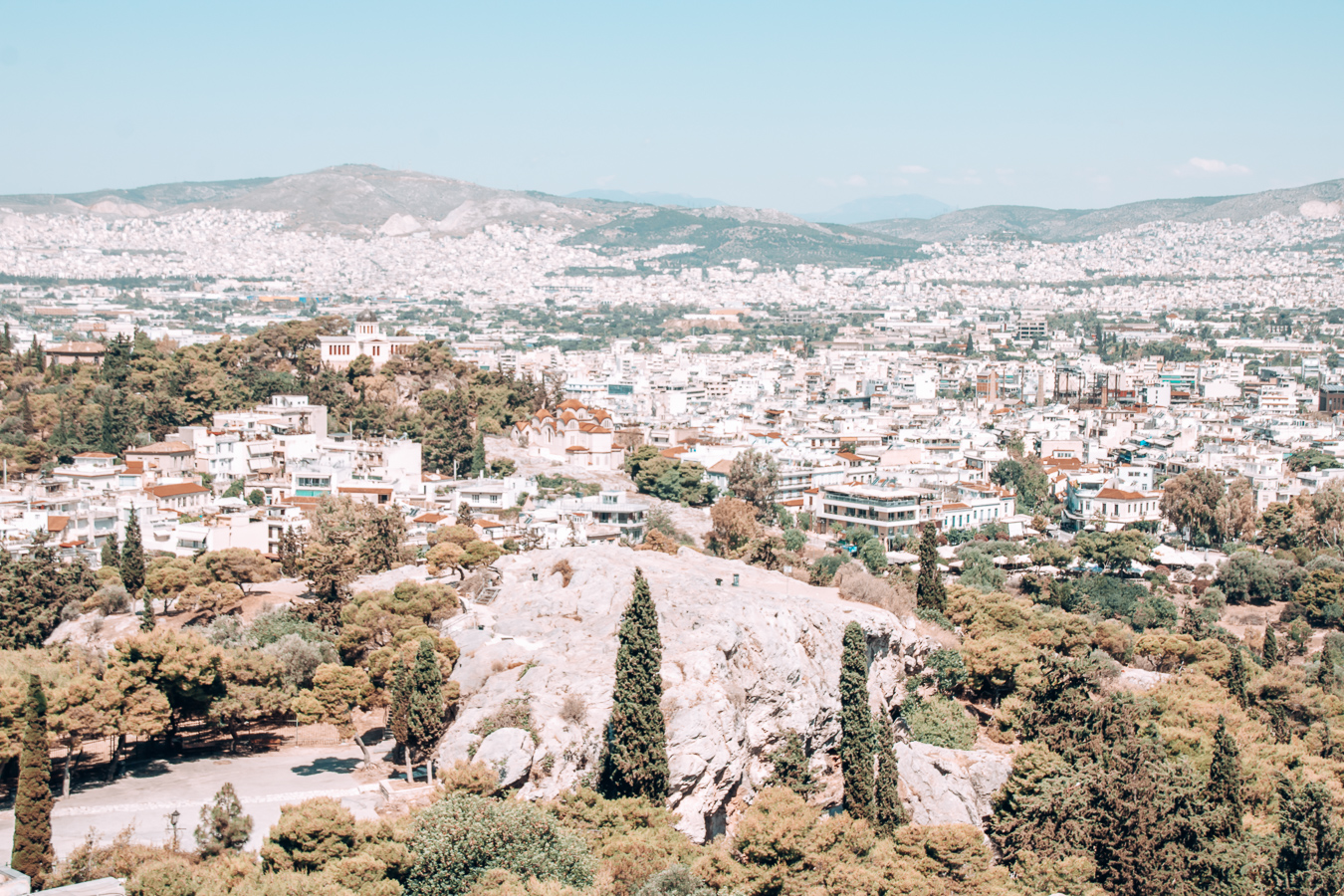 The Areopagus in Athens
