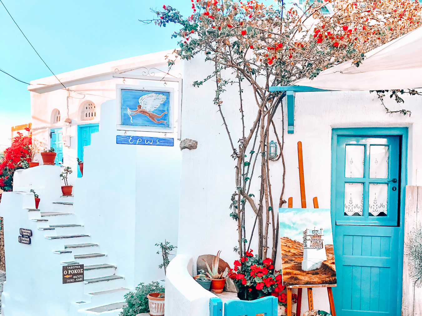 Building in Tinos, Greece