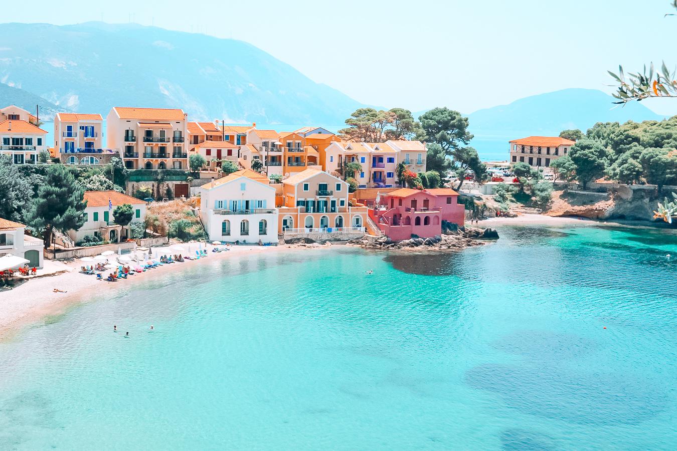 Beautiful view of Kefalonia