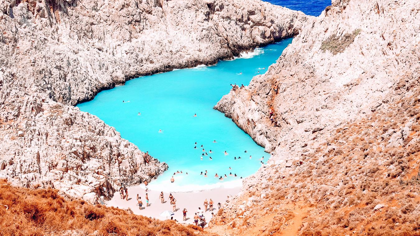 Seitan Limania in Crete, Greece