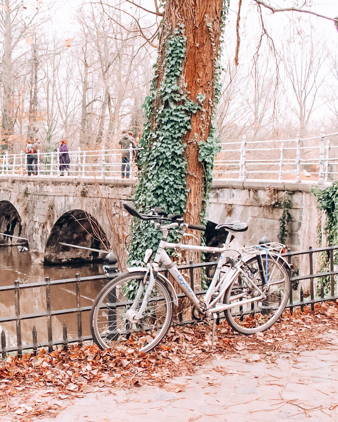A bike in Belgium
