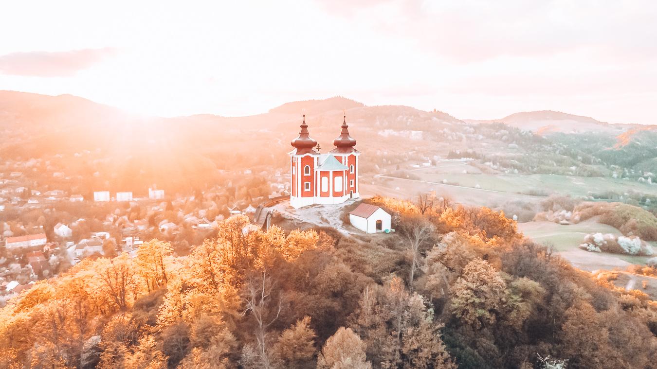 View of Banská Štiavnica