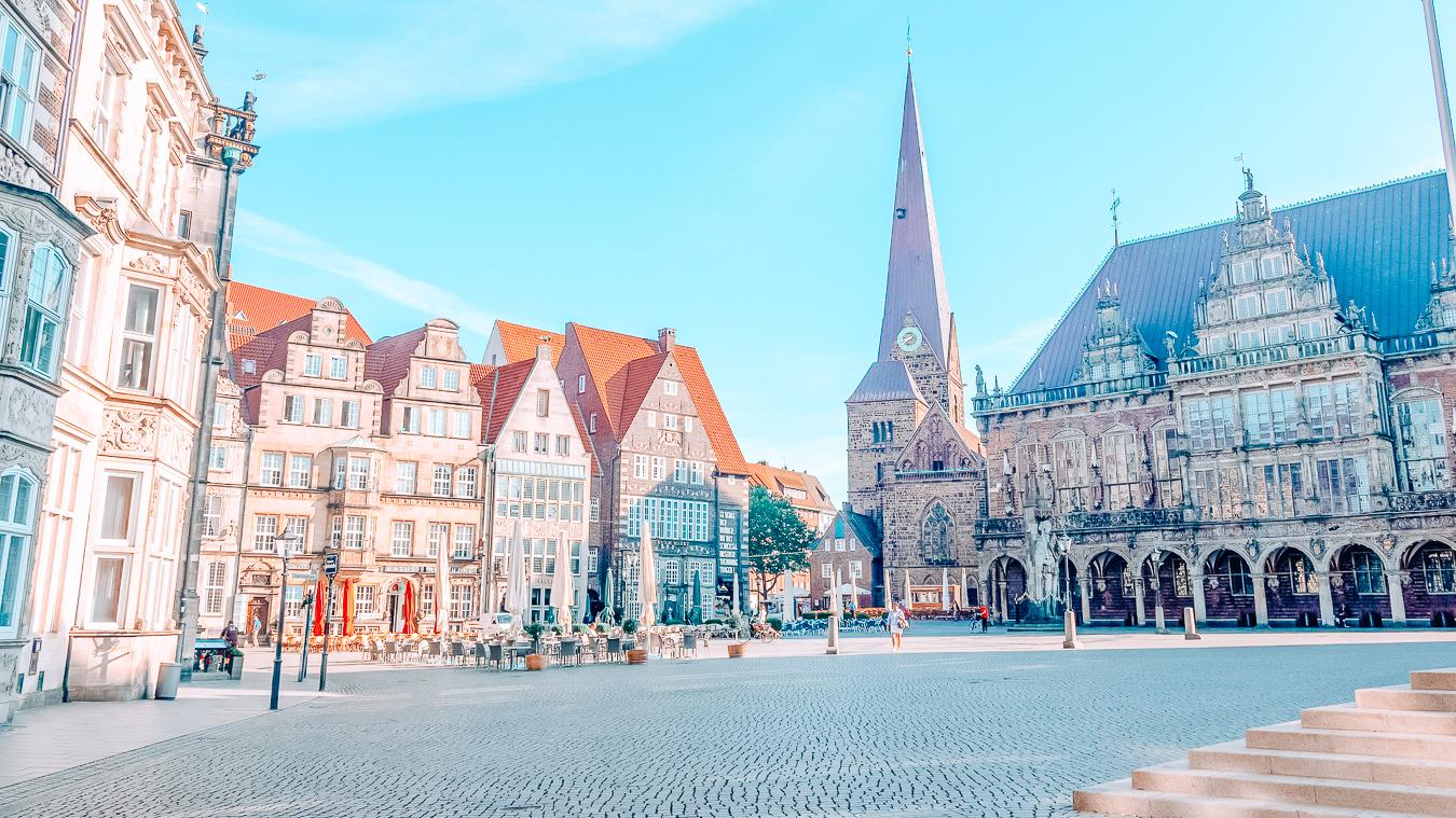 Square in Bremen