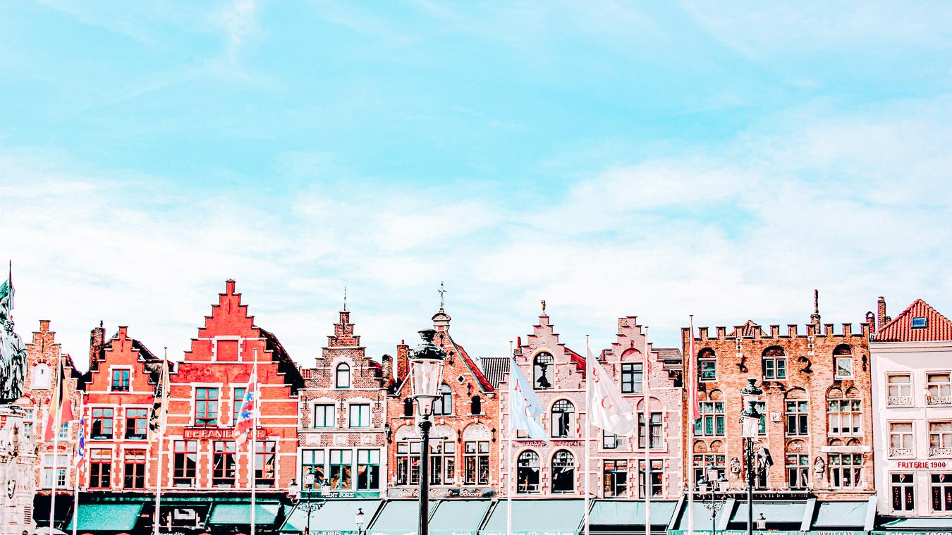 Houses in Bruges