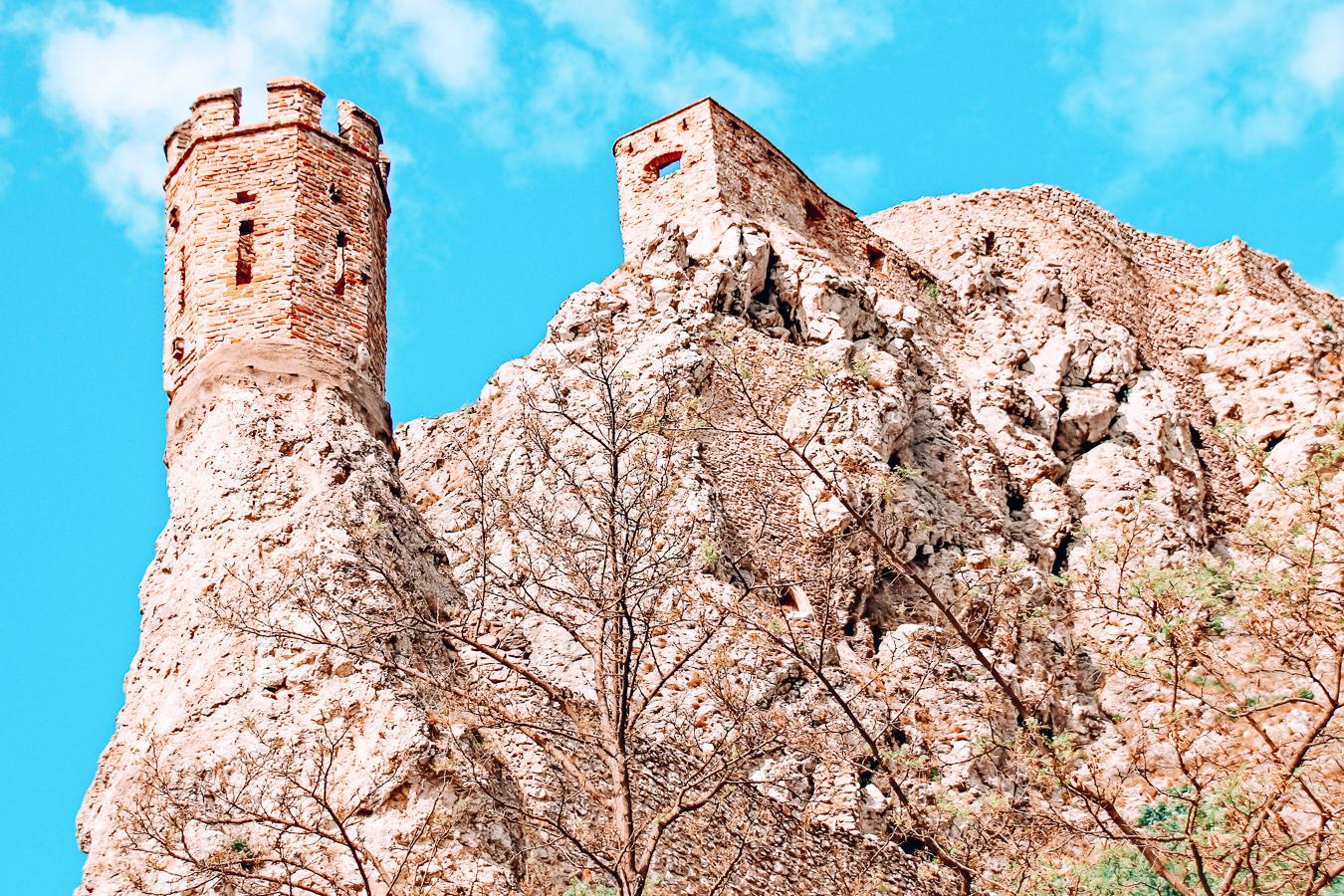 Devín Castle in Slovenia