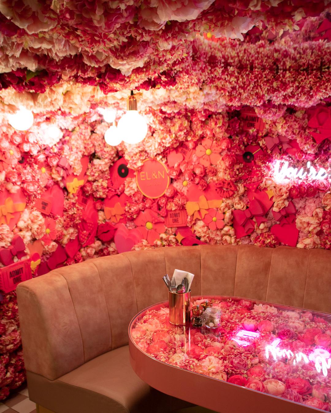 The inside of EL&N Cafe in London