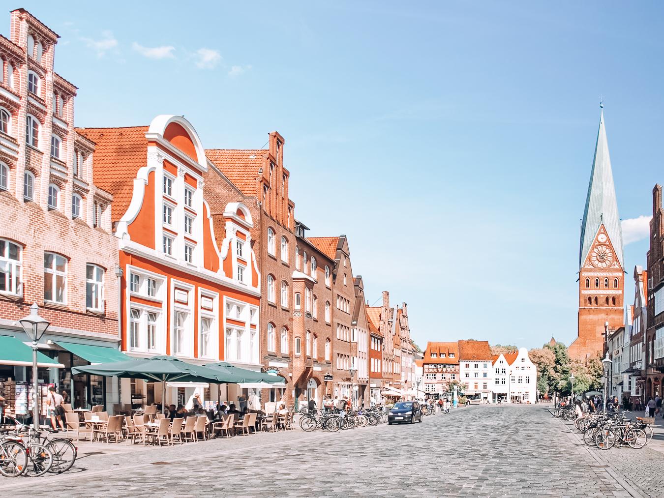 Buildings in Lüneburg, Germany