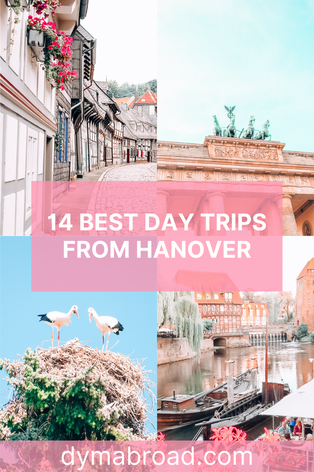 Day trips from Hanover Pinterest image