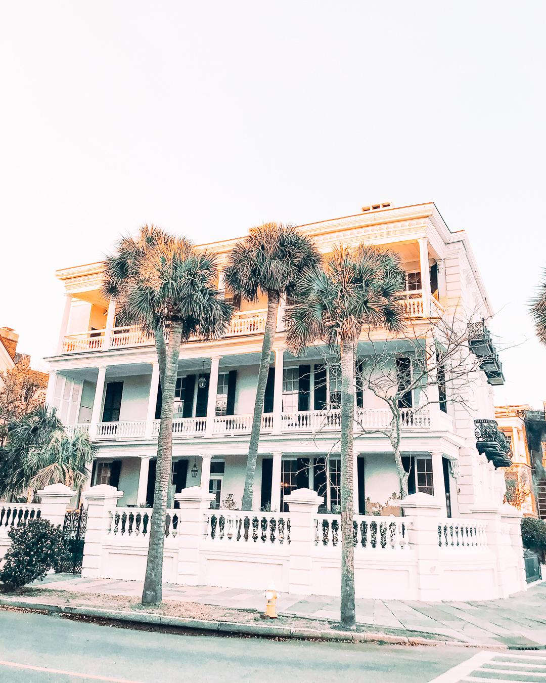 Antebellum house in Charleston