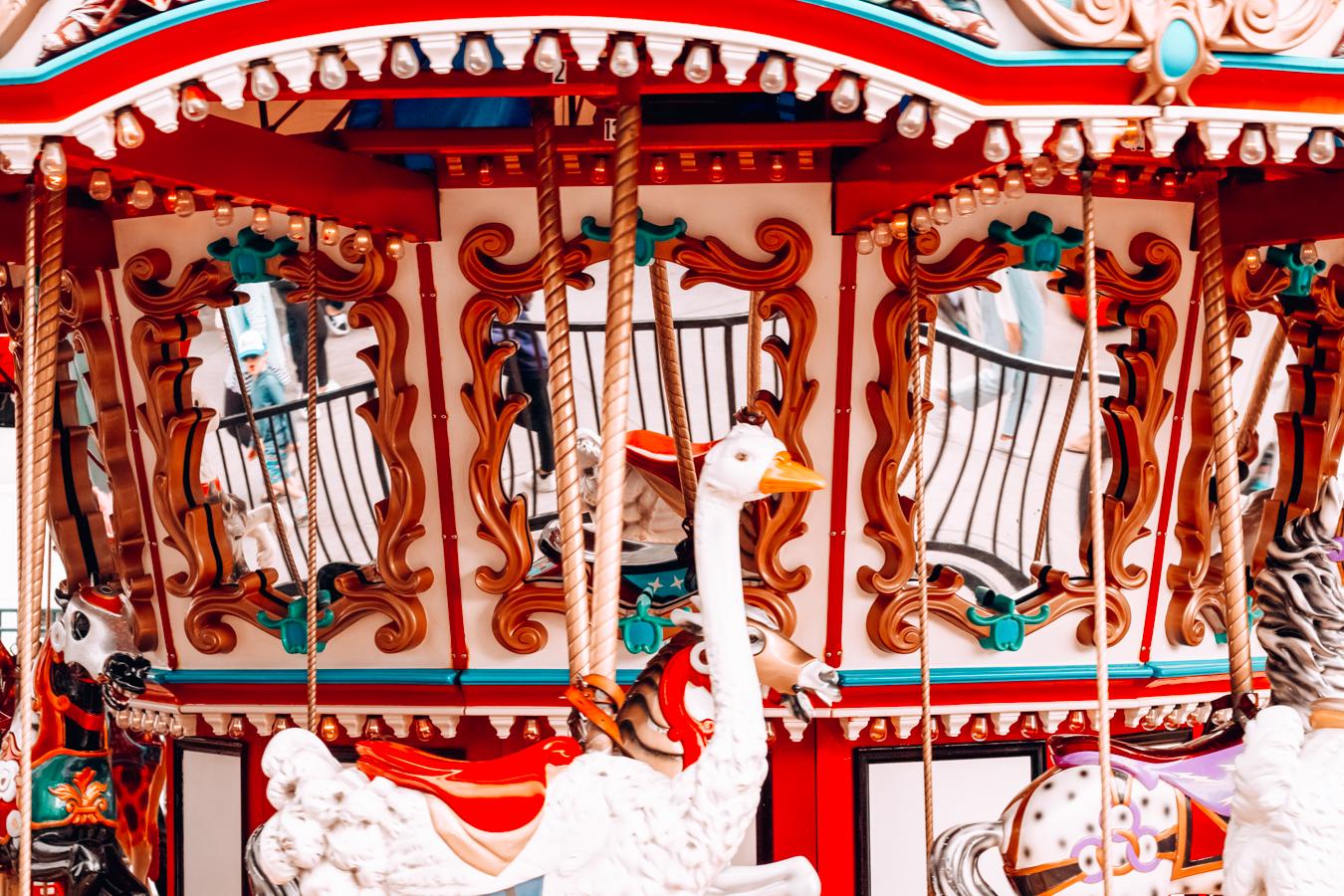 Carousel at Belmont Park