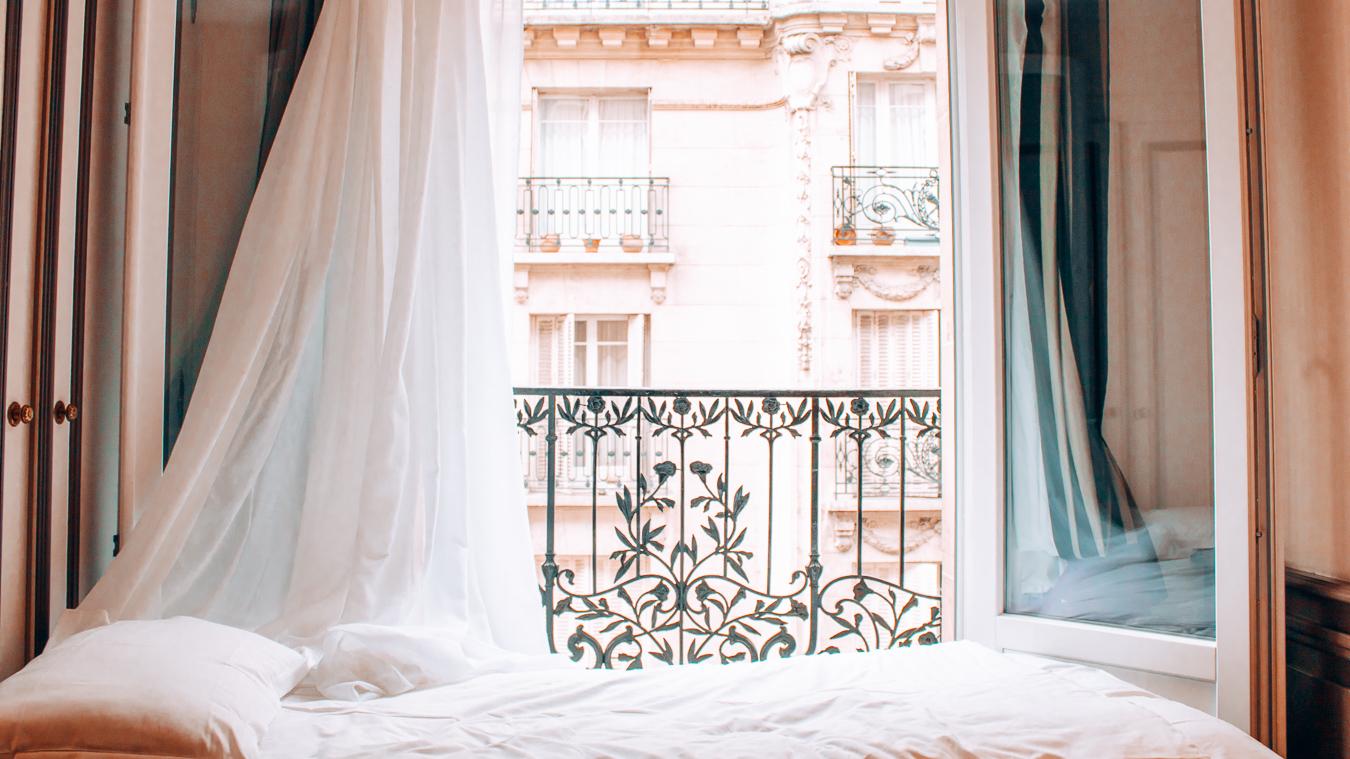 Hotel room in Paris